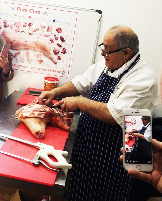 Butchery Demo with Omero Galluci