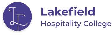 lakefield hospitality college logo